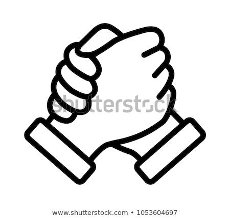 Soul Brother Handshake Thumb Clasp Handshake Or Homie Handshake Line Art Vector Icon For Apps And Websites Line Art Vector Handshake Logo Hand Logo