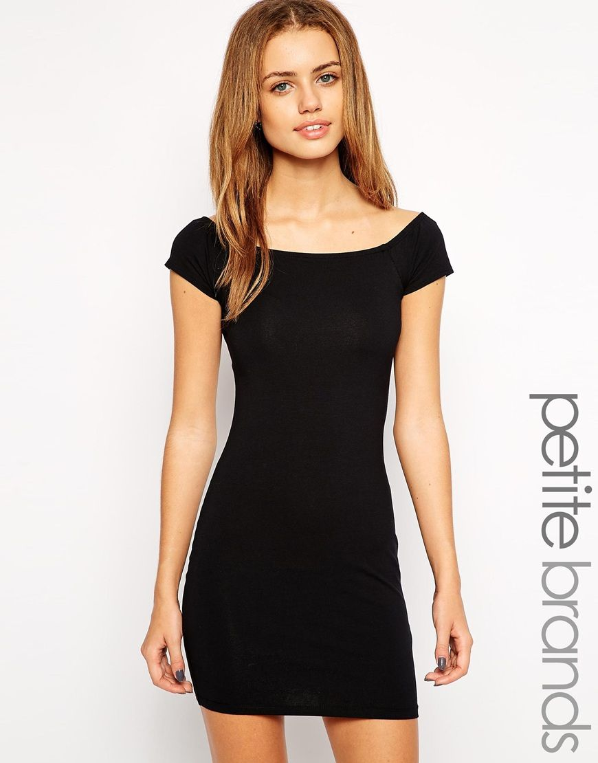 New look petite bardot bodycon dress clothes and what notus