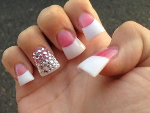 Pin By Dominique Gee On Nails Flare Nails Nails Nails Inspiration