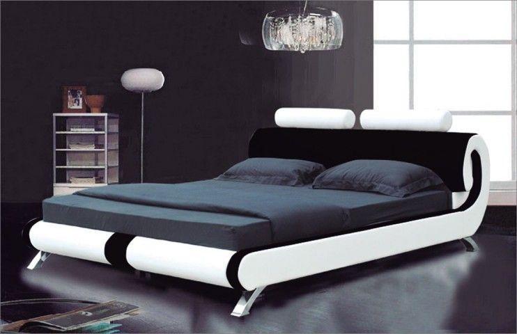 Delaware Faux Leather Designer Bed My Platform beds Pinterest - camas modernas