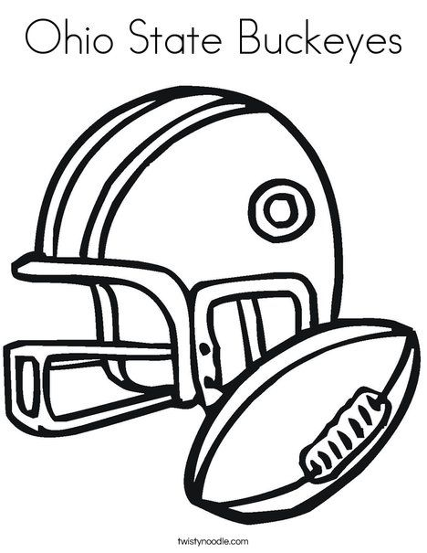 Sports Coloring Book Page