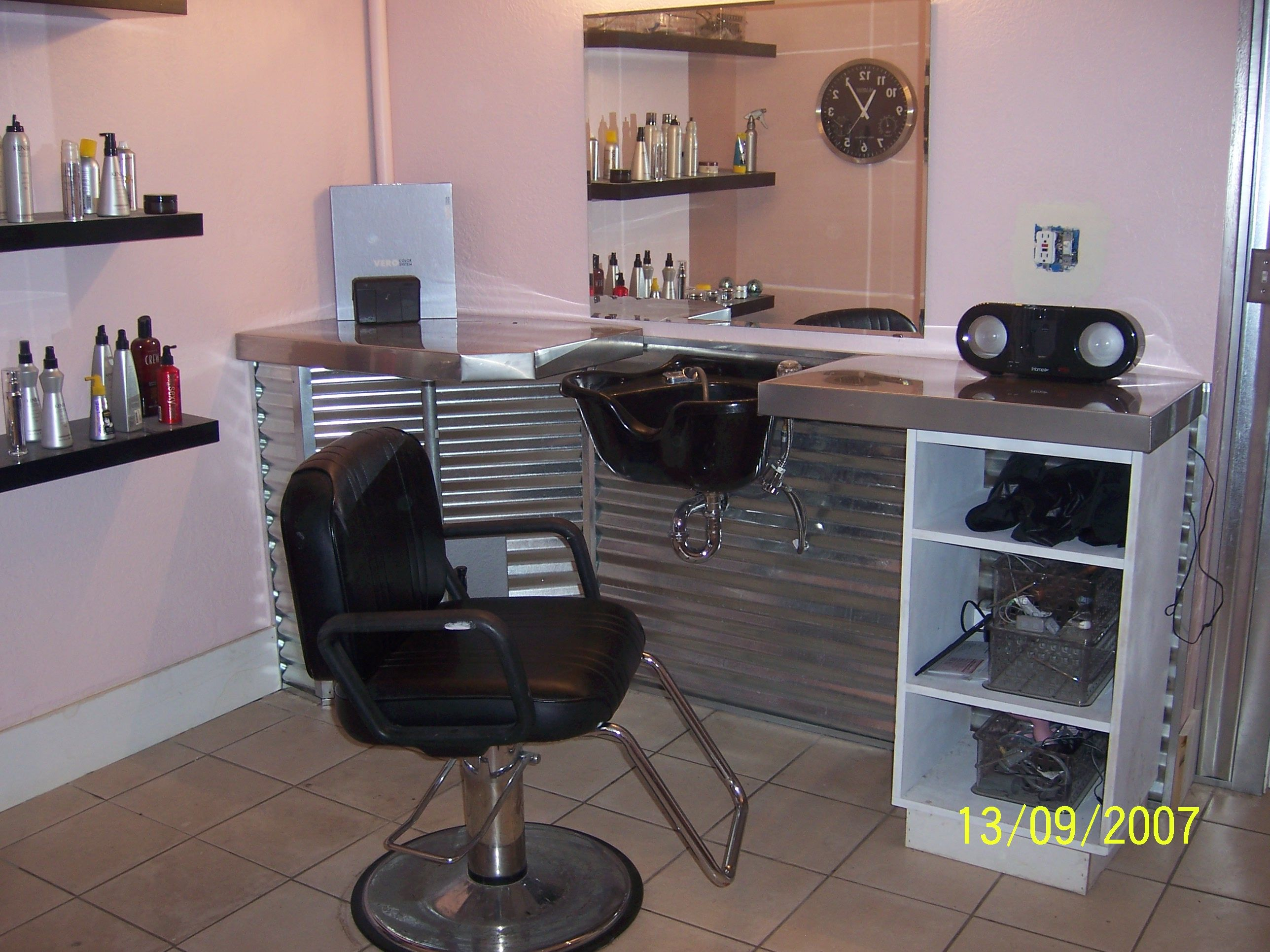 Pin By Tyease Boyer On My Dream 3 Home Hair Salons Home Salon