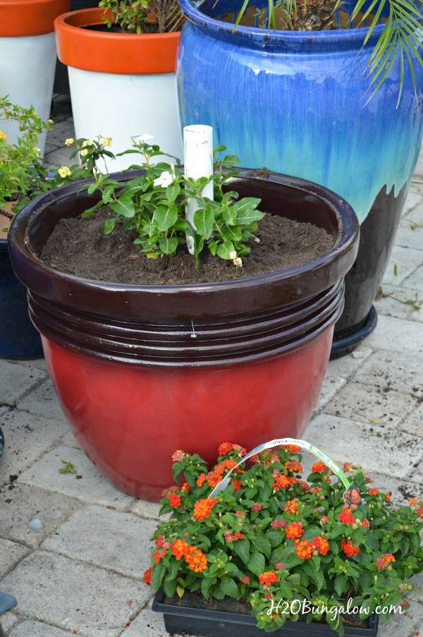 Diy Planter Umbrella Stand Tutorial Diy Planters