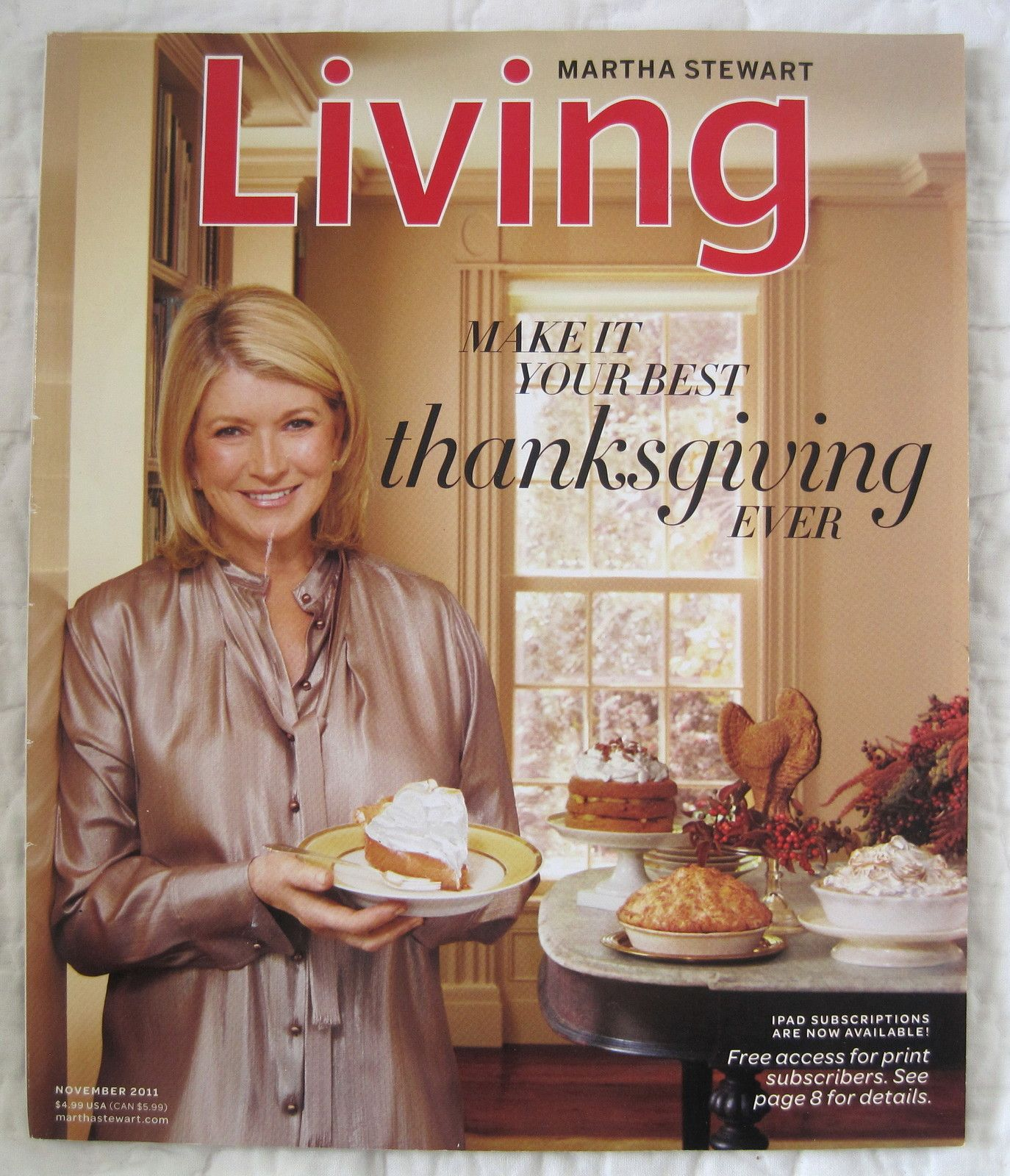 November 2011 Thanksgiving Issue - Martha Stewart Living