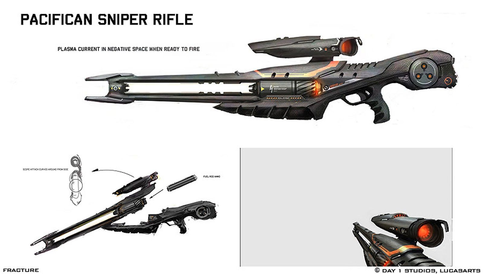 Pin on scifi 2 hand gun