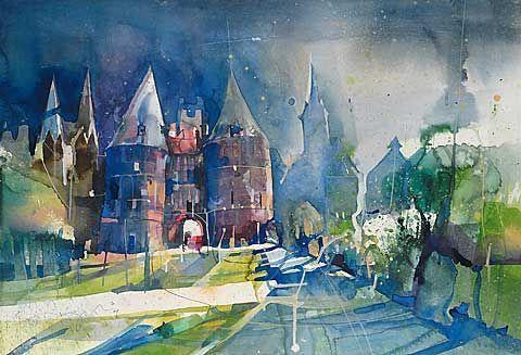 Bernhard Vogel An Artist S Observation In 2019 Watercolor Art