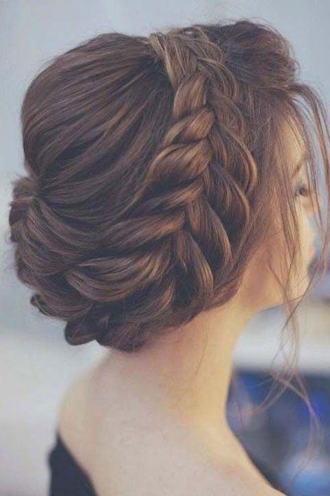 17 Wonderful Hairstyles For Wedding Invitations Braided Hairstyles For Girls Hochzeitsfrisuren Frisur Ideen Brautjungfern Frisuren