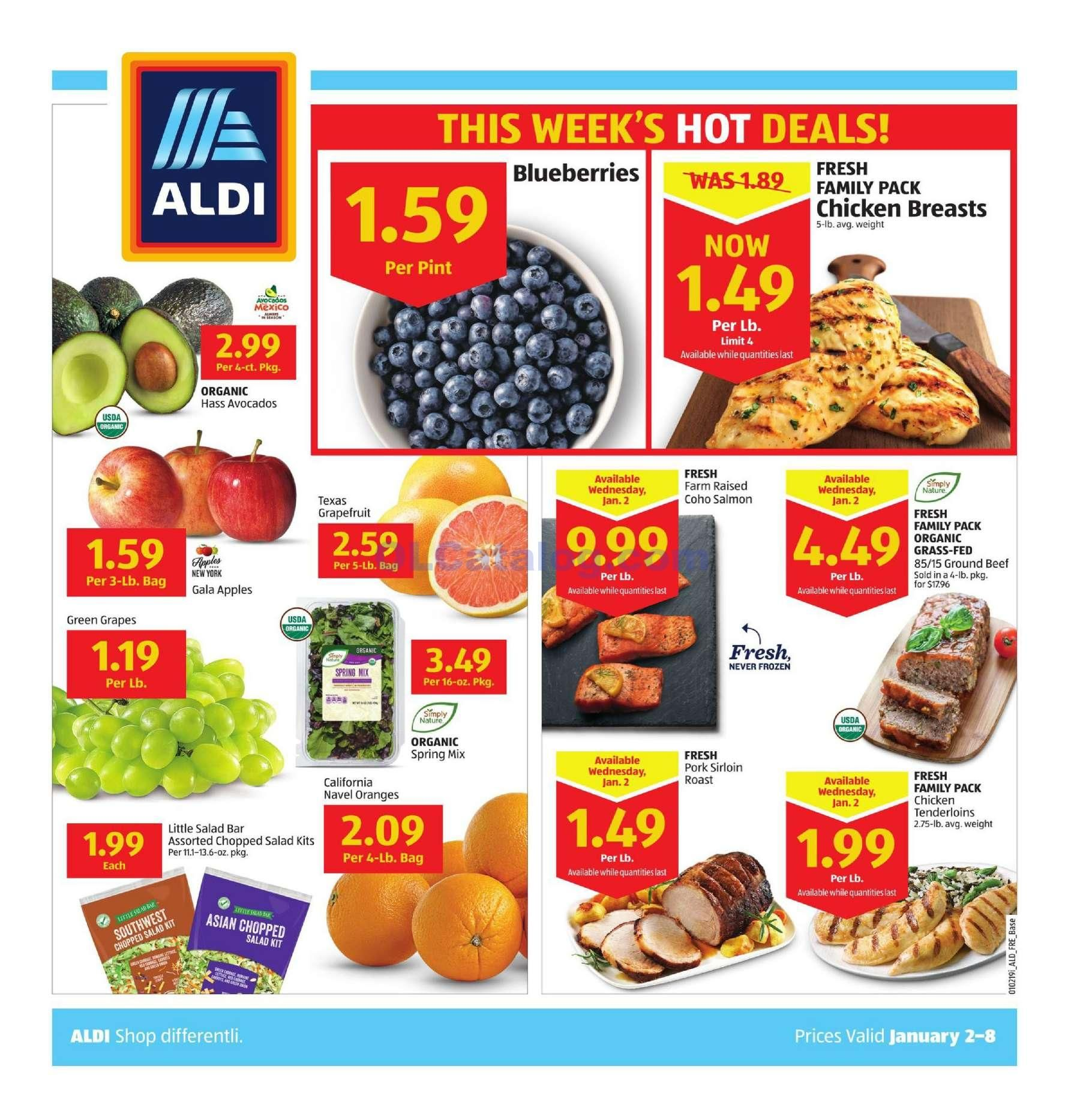 Aldi Weekly Ad January 2 8 2019 View The Latest Aldi Flyer And Weekly Circular Ad For Aldi Here Likewise You Can Find The Aldi Grocery Savings Weekly Ads