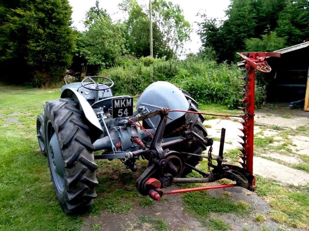 1950 Ferguson Tea 20 With A Ferguson Finger Bar Mower Tractors Vintage Tractors Old Tractors