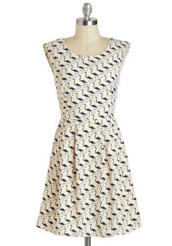On The Wading List Dress, #ModCloth