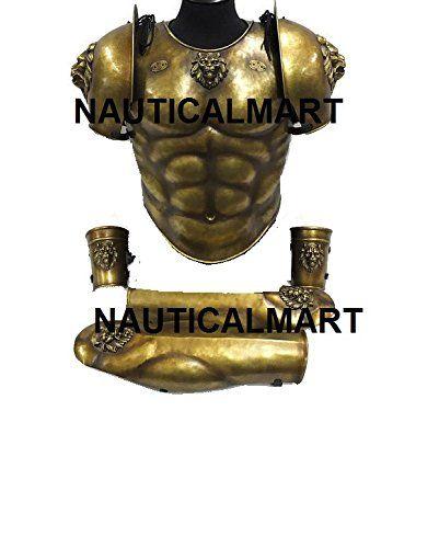 Larp Armor Classical Lion Muscle Armor Set By Nauticalmart