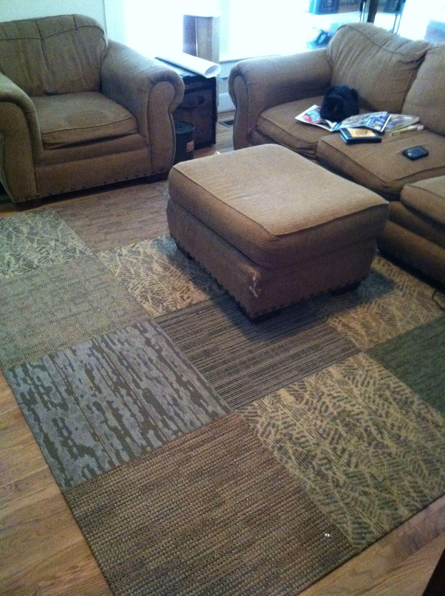 Carpet Tile Area Rug   Tile Design Ideas