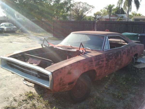 1970 Dodge Charger Factory Big Block Project Car With Images