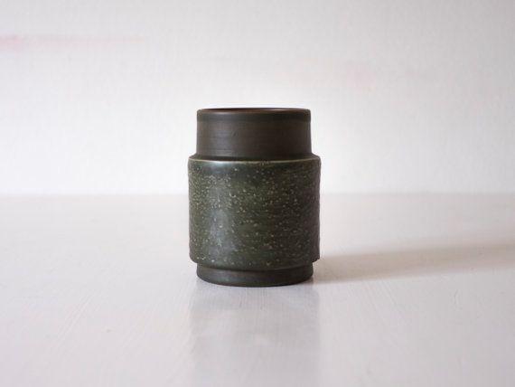 Dänische moderne Nittsjö-Keramik Studio Vase gemacht von Wohnstadt