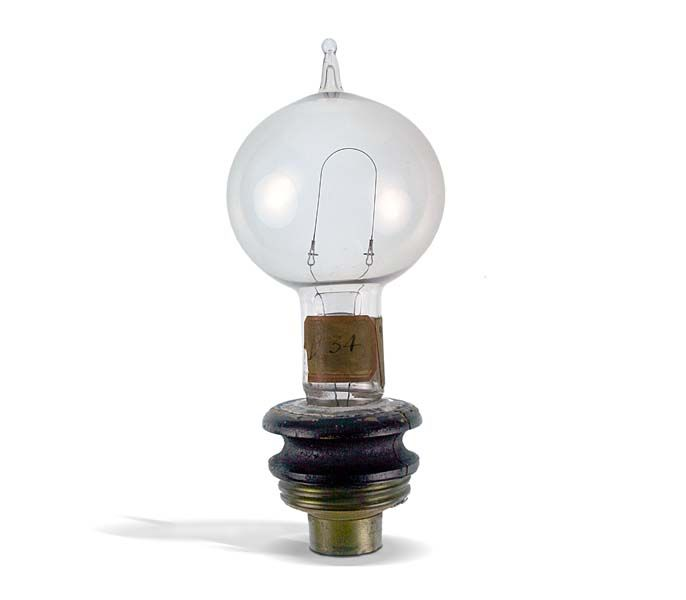 This Is The First Invention Of Light Bulb It Was Created By Thomas Edison I Chose Image Because Without A World Would Be Dark