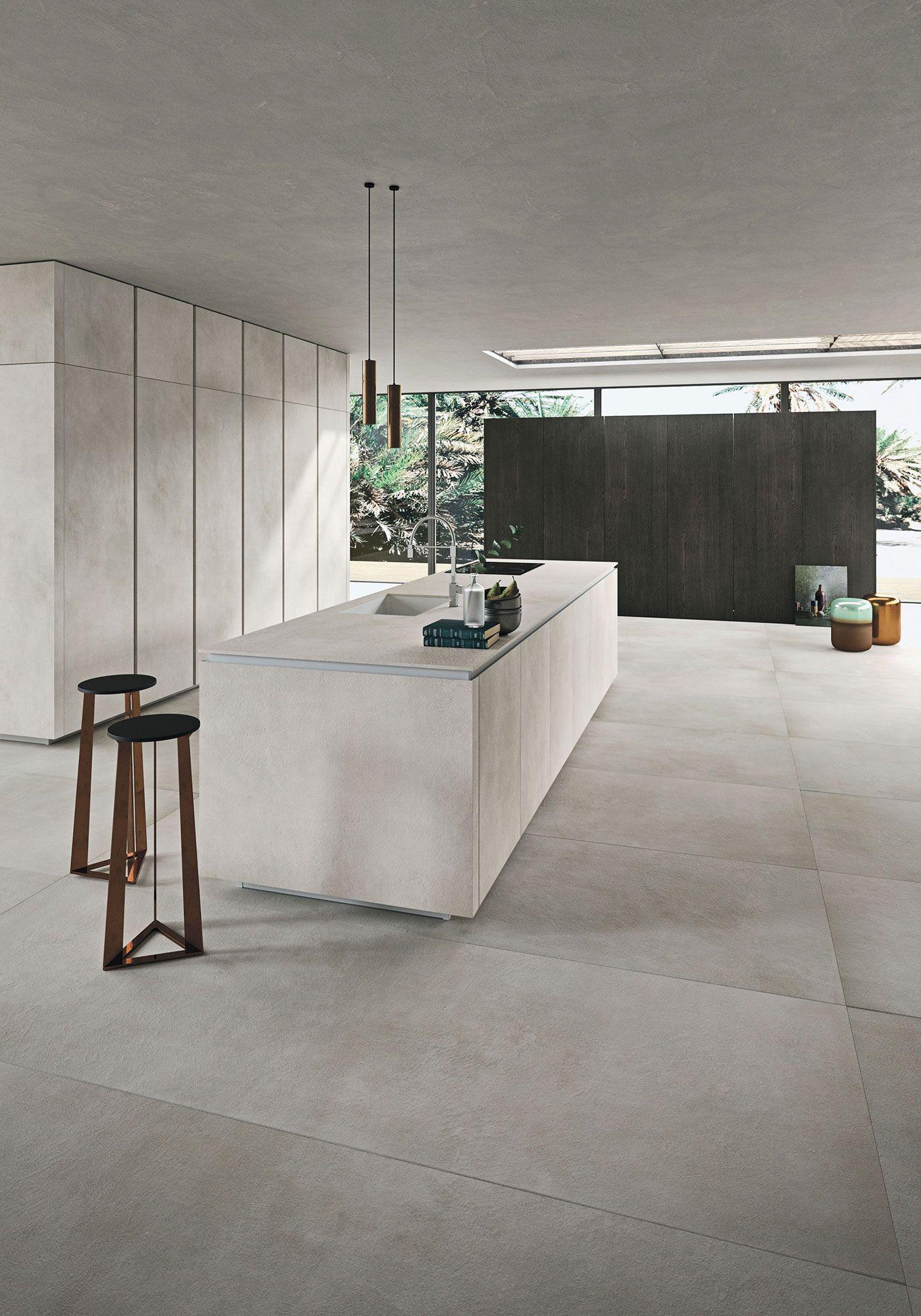 Deco Salle De Bain Beige Et Marron ~ Design Kitchens Snaidero Way Materia Photo 1 Architecture