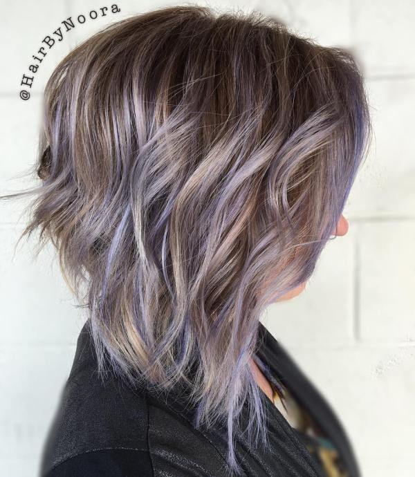 The Prettiest Pastel Purple Hair Ideas Purple Balayage Light