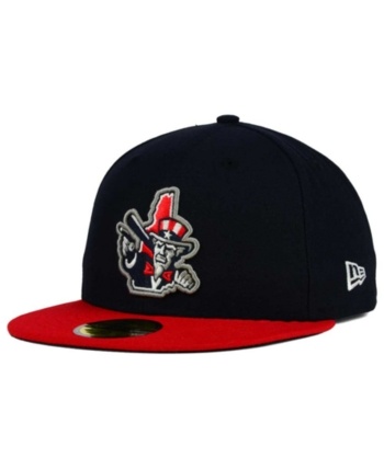 info for e7a9a d811e New Era New Hampshire Fisher Cats 59FIFTY Fitted Cap - Navy Red 7 3 8