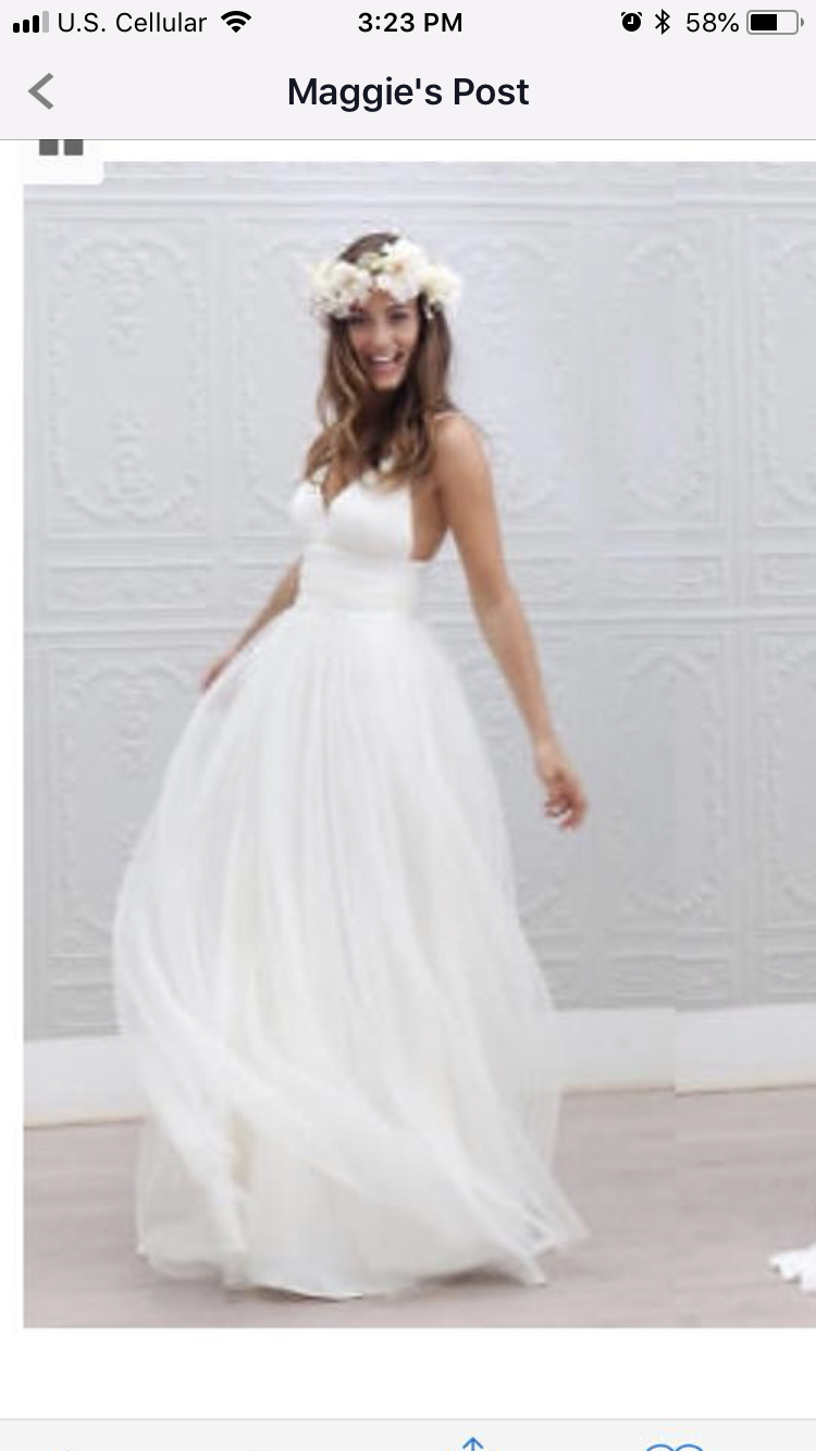 Perfect beach wedding bell of the ball gowns pinterest gowns