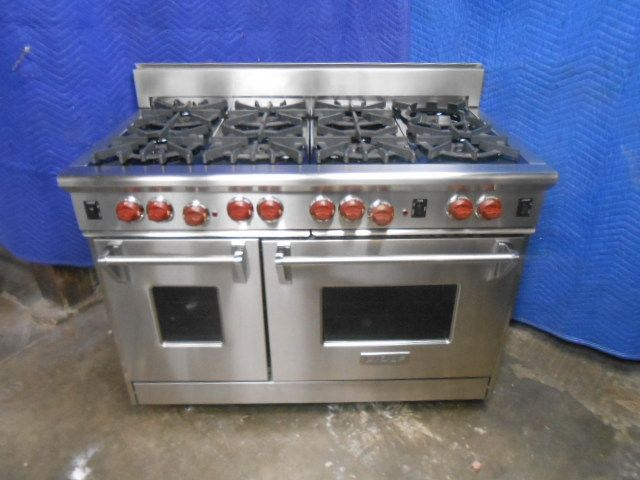Gscr488n Capital 48 Precision Pro Style Gas Convection Range 8 Burners Natural Gas Stainless Steel Cooking Range Kitchen Appliances Kitchen Stove