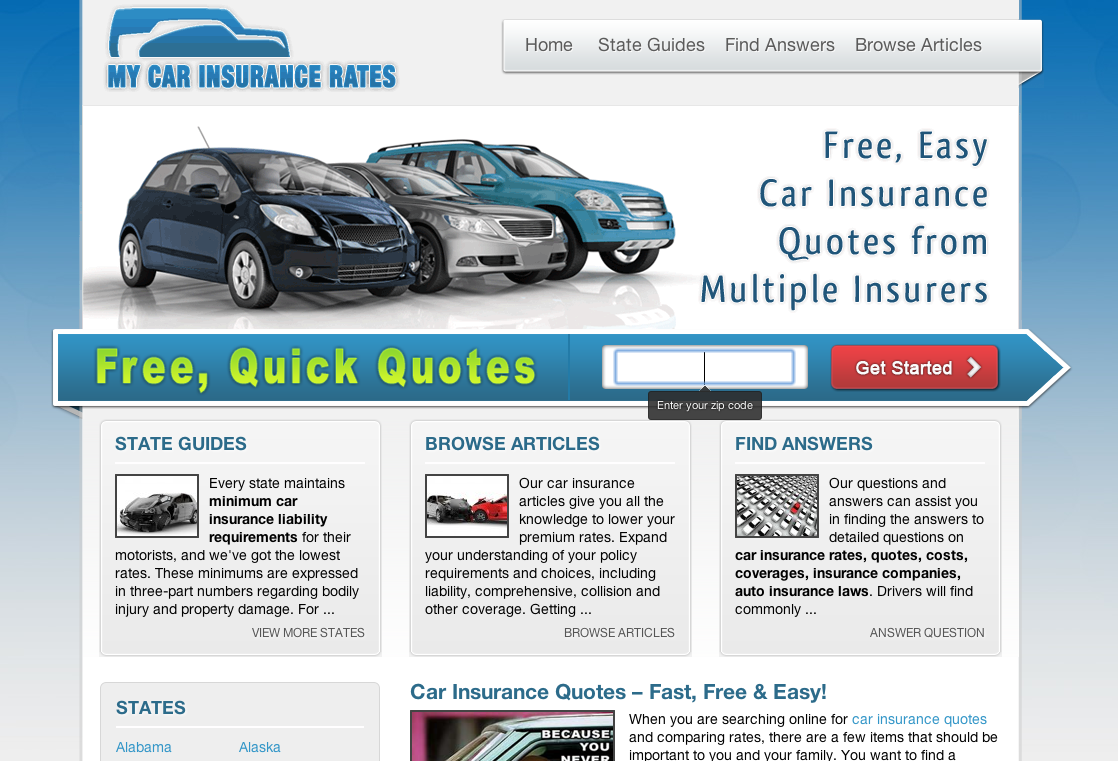 My Car Insurance Rates Car Insurance Car Insurance Rates Auto