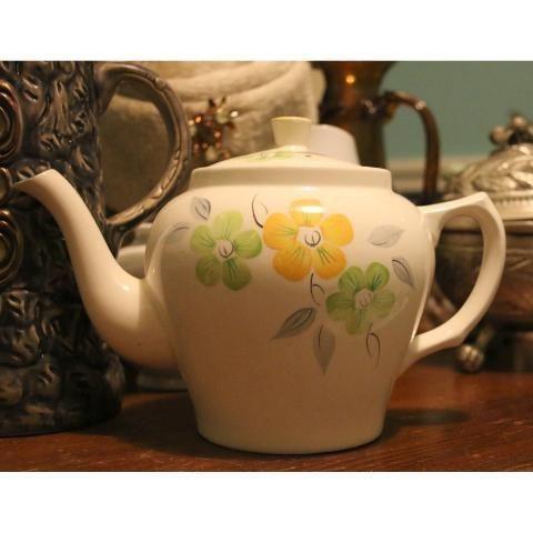 Tetera porcelana inglesa wade heath england 160112 - Porcelana inglesa antigua ...