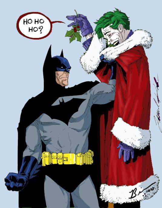 Batman Christmas.A Joker Christmas By Knightreaver Batman Batman Universe