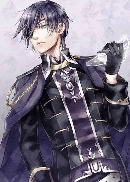 Ciel Phantomhive all grown up searching for his Cinderella.