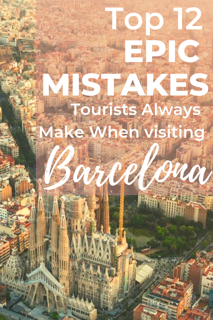 Going to Barcelona for the first time and not sure what to expect? Find my Barcelona travel guide with all the do's and don'ts when visiting Spain (and what not to do in Barcelona), beach etiquette and why you should avoid Las Ramblas. Moreover, I detail all the things to be careful in Barcelona and all the common mistakes tourist always make when visiting Barcelona. Click through to #barcelonamistakes #barcelonatravelguide #thingstodoinbvarcelonaspain #barcelonatraveltips