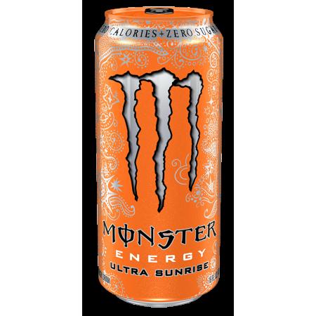 Monster Ultra Sunrise Energy Drink 16 Fl Oz 4 Count Walmart Com In 2021 Monster Energy Drink Monster Energy Monster