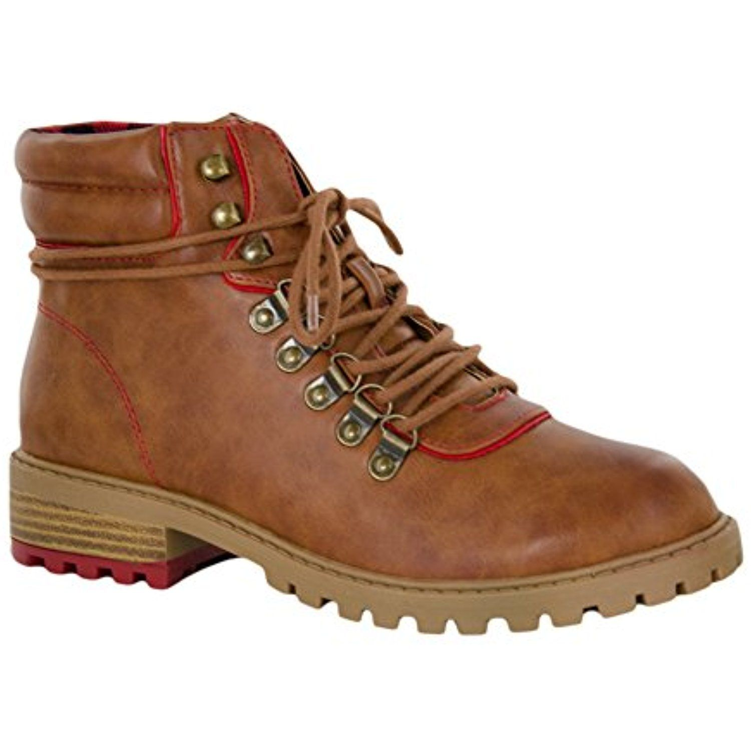 Lance Round Toe Synthetic Boot