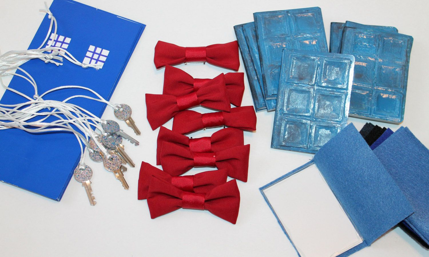 Doctor Who PARTY FaVoRs For 8 Bow Ties Are Cool TARDIS