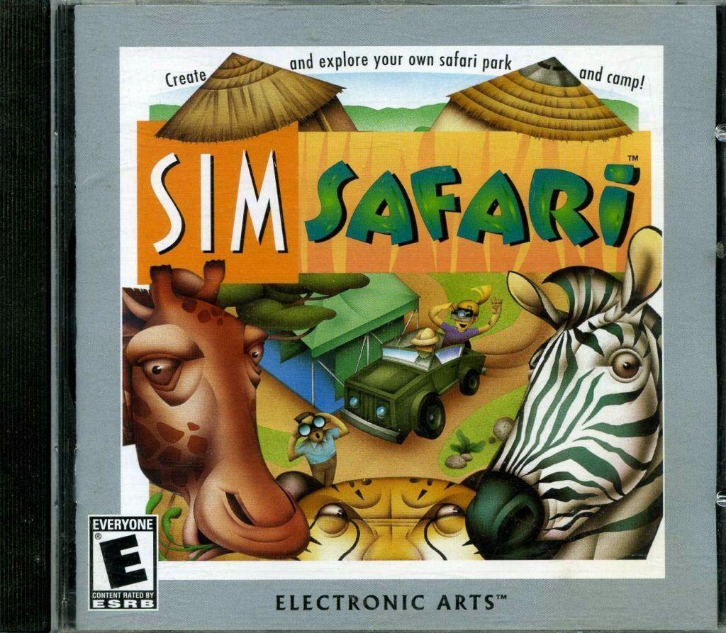 Sim Safari PC Game Mac games, Old games, Electronic art