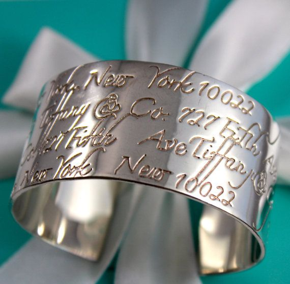 """0f0b9e9f343b1 Tiffany & Co. Sterling Silver Bracelet Notes Collection """"Tiffany Co ..."""