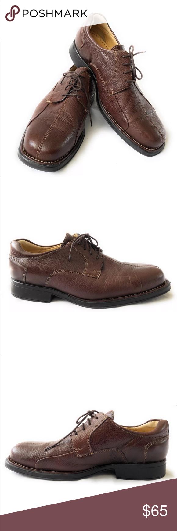b5d77264cd Studio Belvedere Bay Bridge Men's Shoes Studio Belvedere Bay Bridge Men's  Brown Leather Oxford Lace Up Shoes Size: 9.5EEE Condition: Good condition  Studio ...