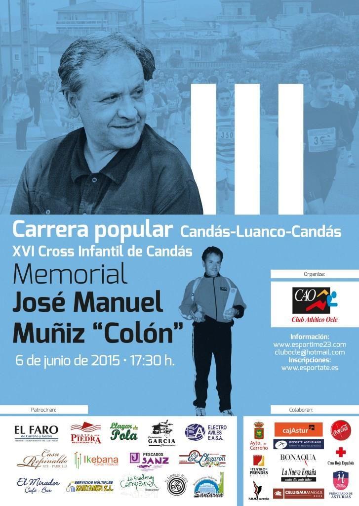 Candás Luanco Candás Carreras Popular Cartel