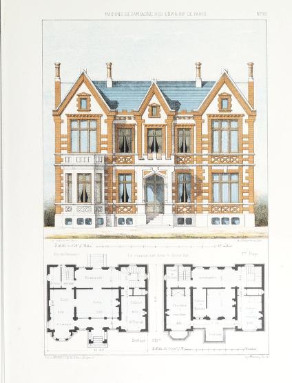 Maisons de campagne des environs de Paris avec plans dessinées d après nature Petit Victor 1820 1874 Free Download Borrow and Streaming Internet Archive