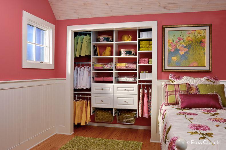 Great EasyClosets.com   Showroom   Little Girlu0027s Closet