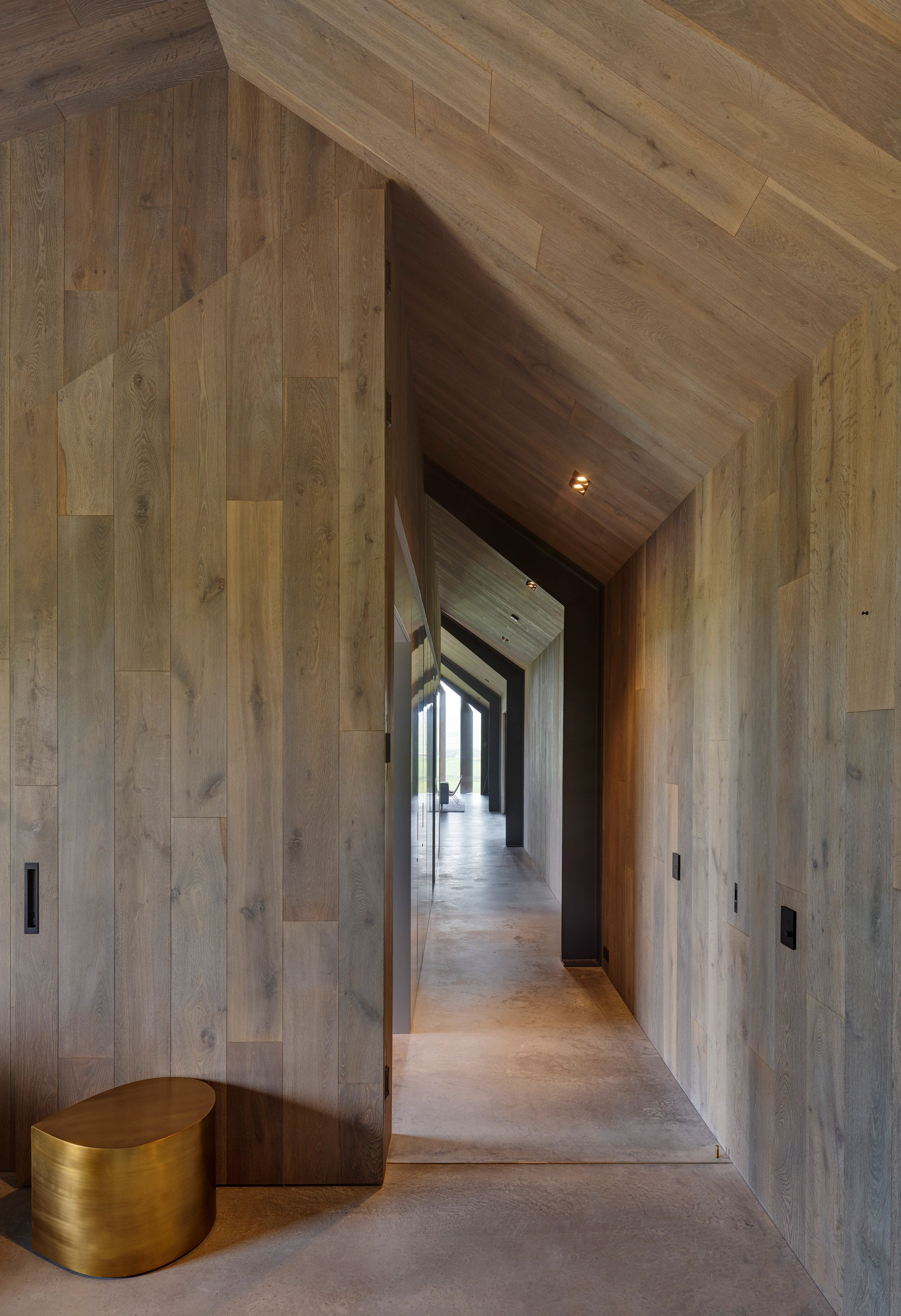 A Covered Outdoor Passage Connects The Communal Spaces With A