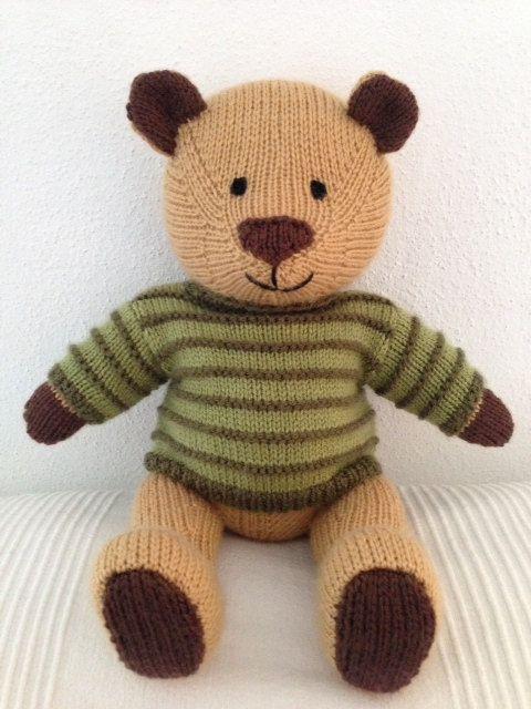 Jacob the Bear | Knit ::: Cute | Pinterest | Muñecas