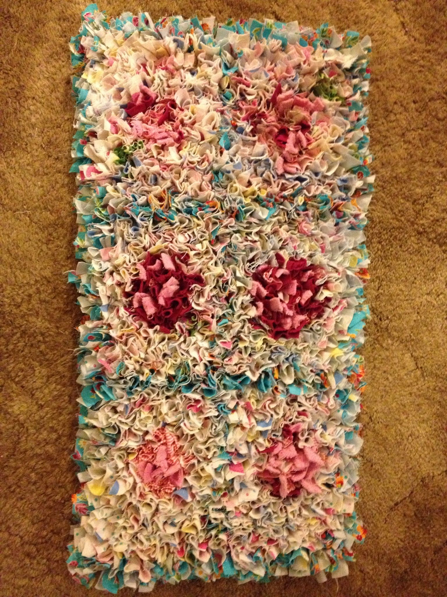 My Second Hand Made Rag Rug For Heather Rugs Lawn Care