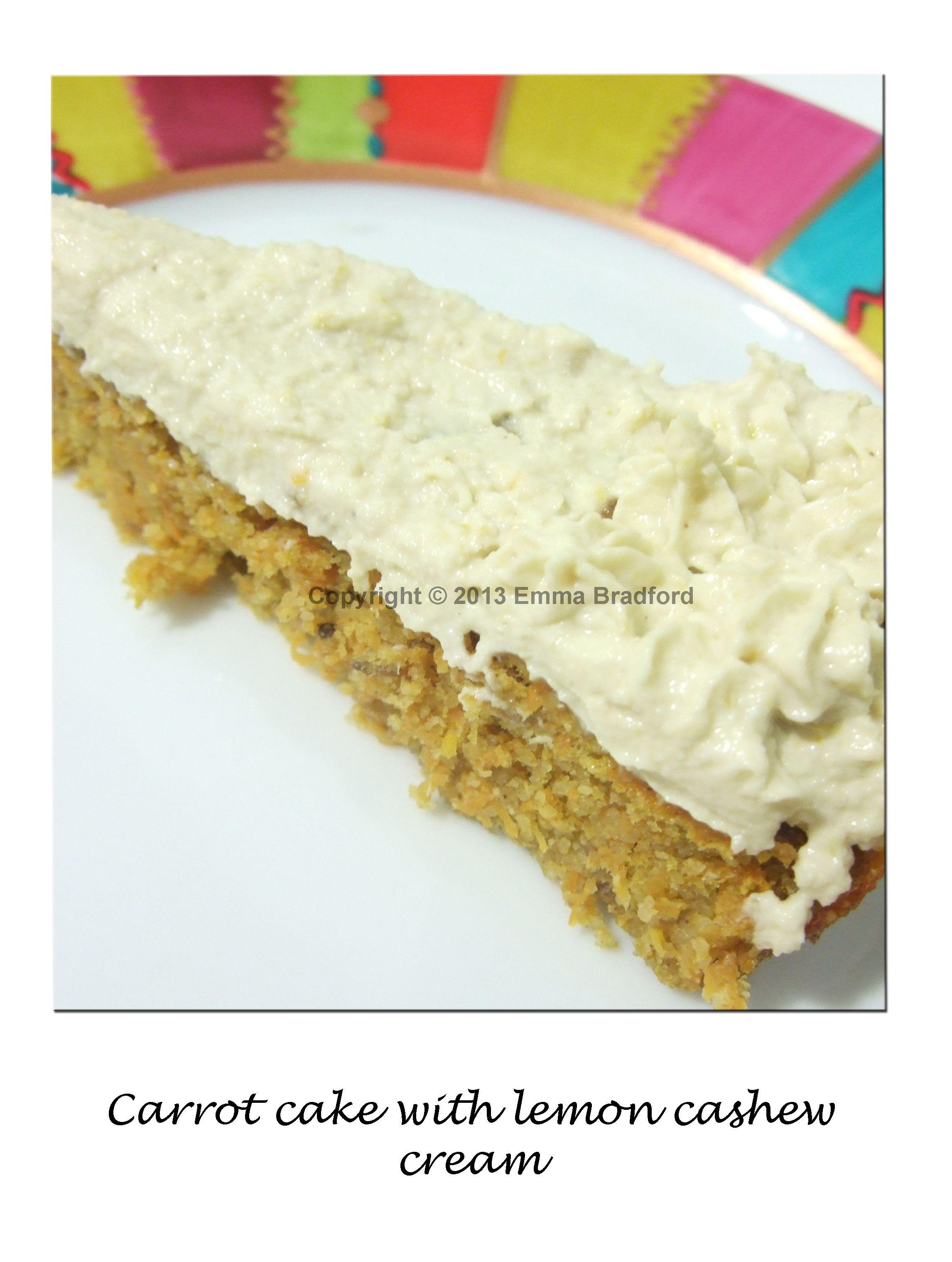 Carrot cake 100 gluten dairy and sugar freerecipe