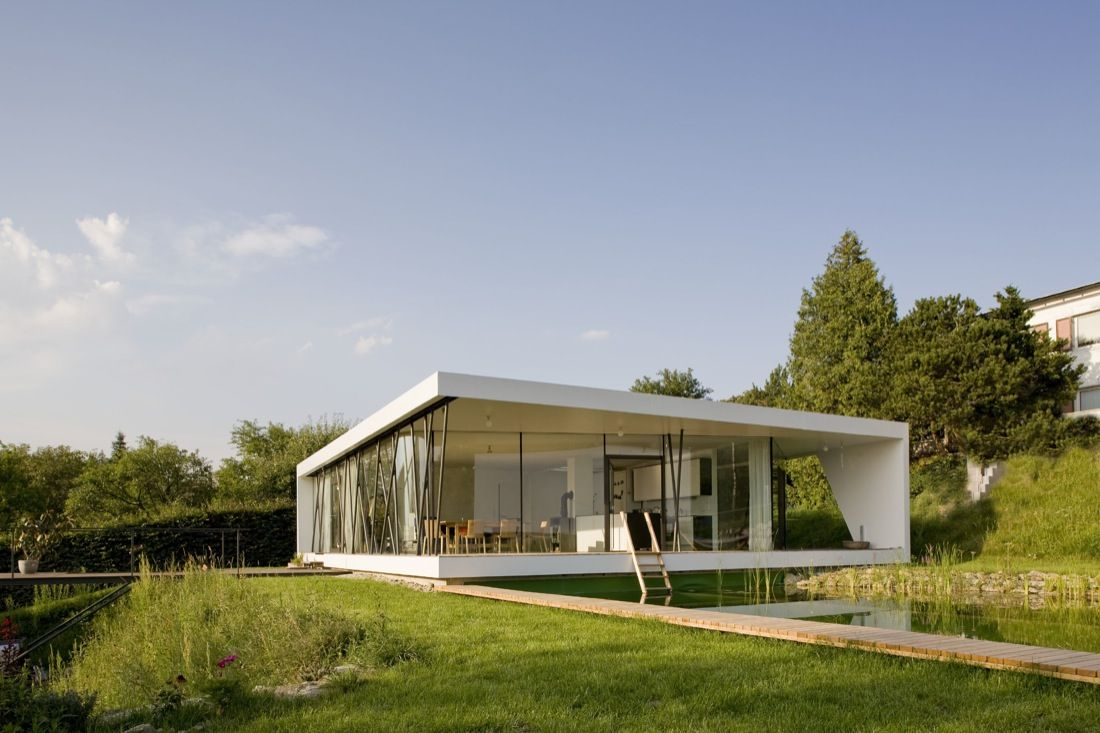 Prefab house by fertig hauser