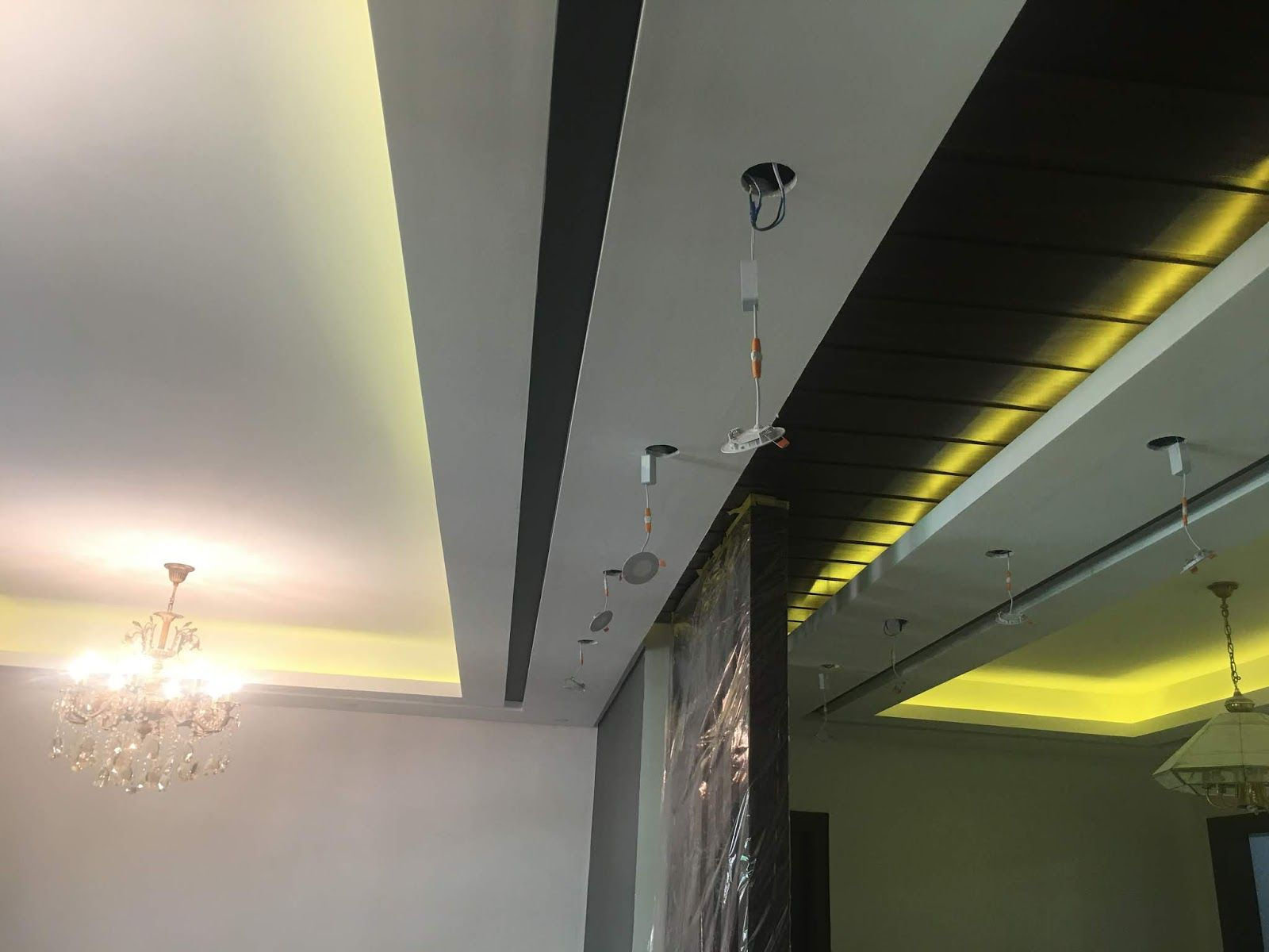 صور ديكورات جبسم بورد 2018 Gypsum Decoration Interior Design Gypsum Decoration Ceiling Lights Design