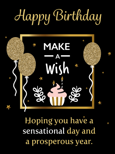 Make A Wish On This Special Day Happy Birthday Card Birthday Greeting Cards By Davia Happy Birthday Cards Birthday Greetings For Daughter Birthday Greeting Cards