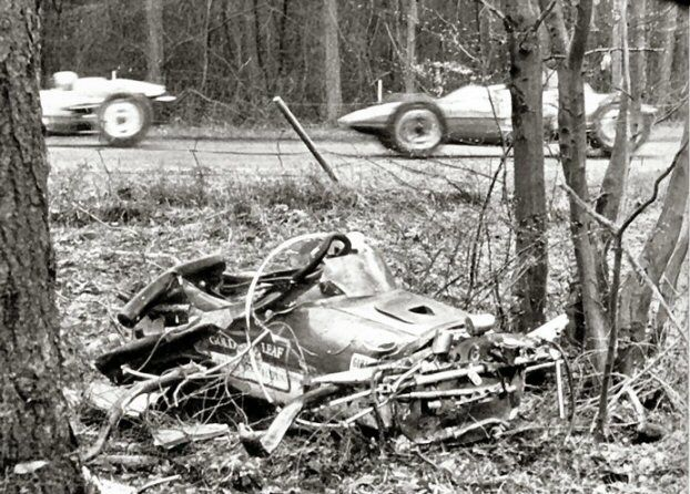 Image result for jim clark crash