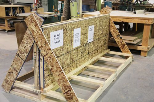 Engrain Wood Countertops Shipped With Care Each Finished Countertop Is Packaged And In A Custom Bui