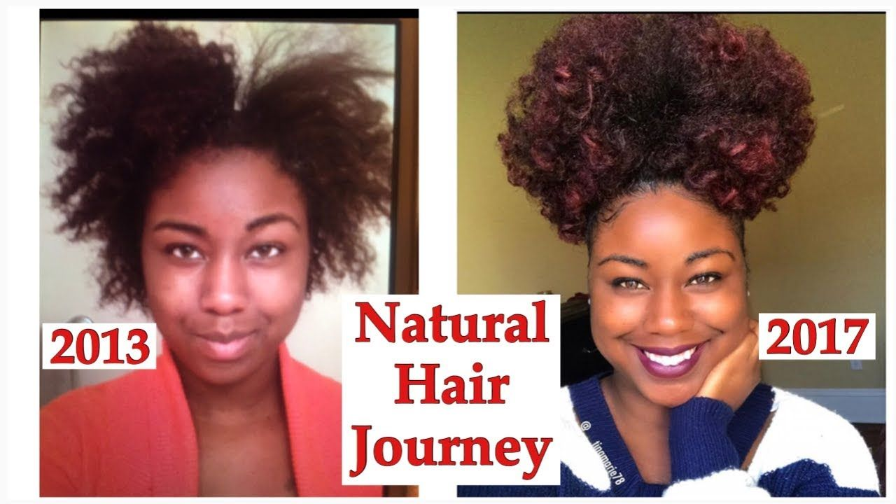 Natural Hair Growth Journey Before and After (With ...