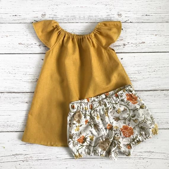 d509a30cc62 baby girl linen outfits    mustard toddler dress    yellow linen dress     spring pictures outfit gir