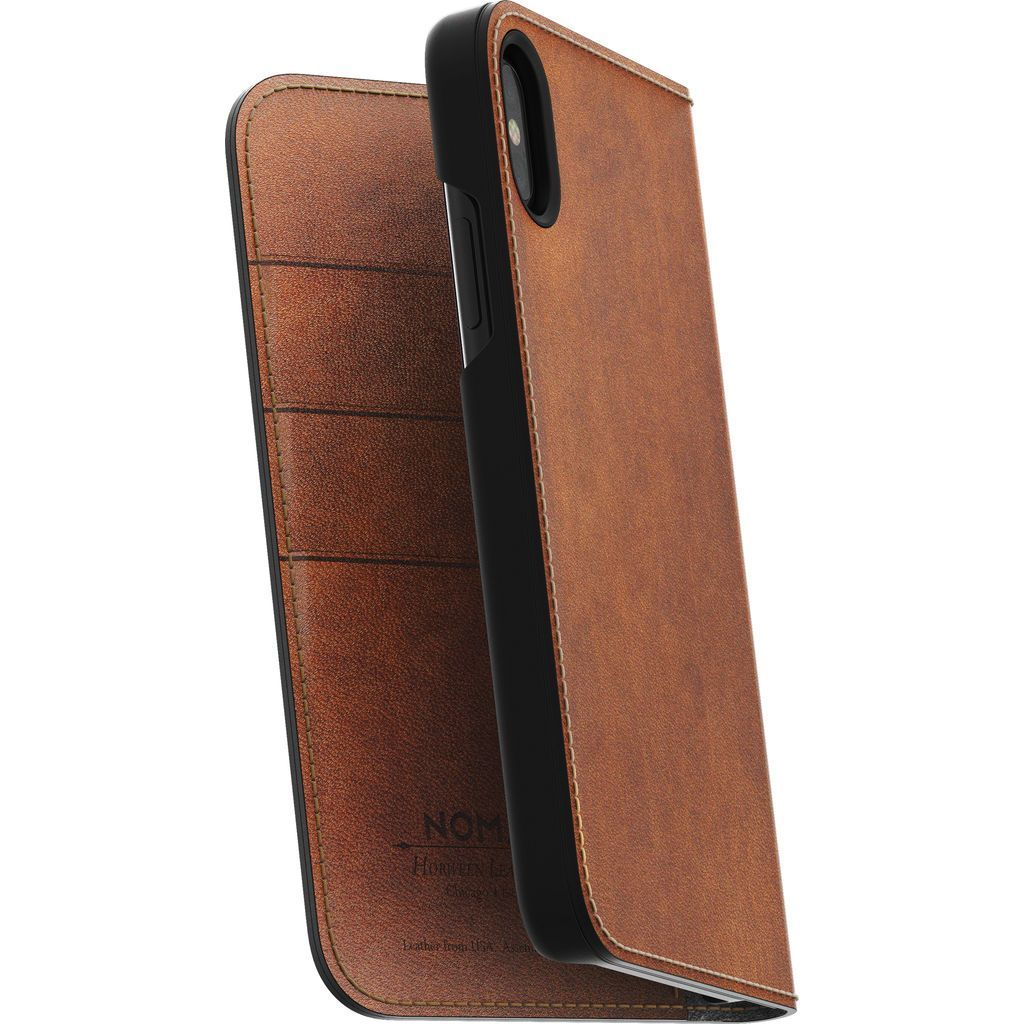Looking For A Folio Case For You IPhone X? Protect Your Phone With The  Horween Brown Leather Case, An Enclosed Shelter For Your Phone.